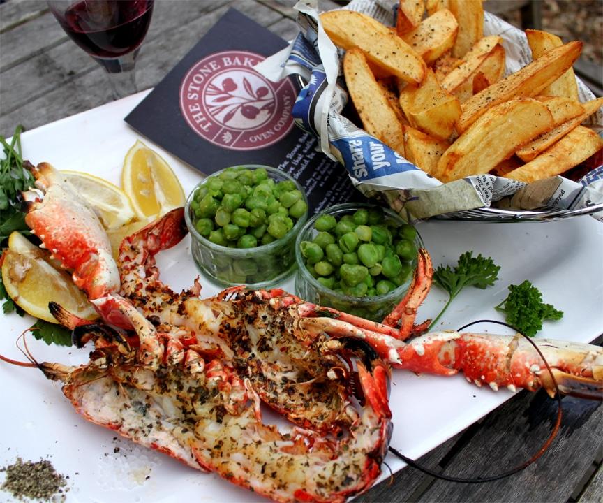 Stone Bake Wood-Roasted Lobster