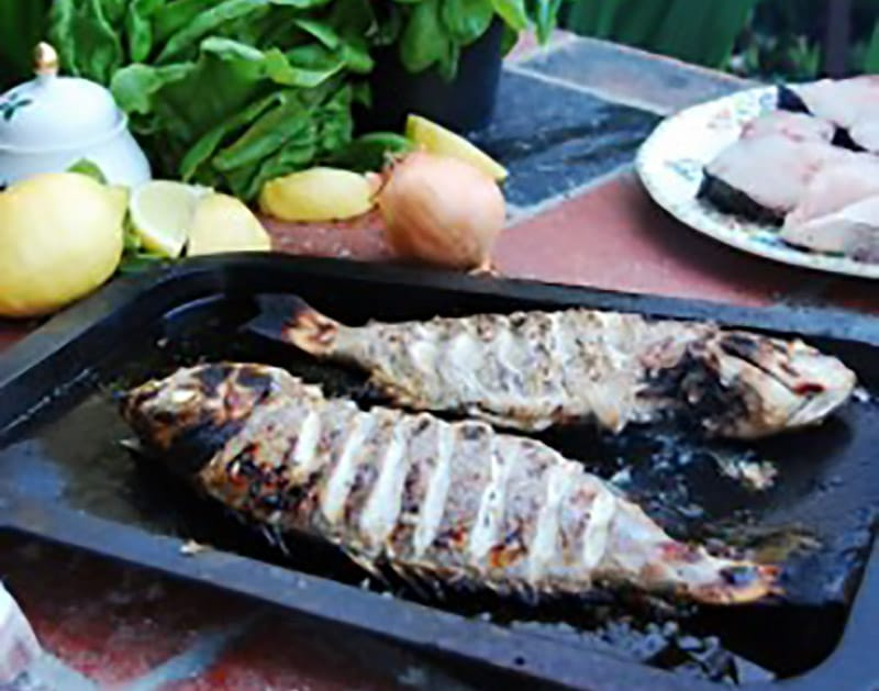 Wood Fired Oven Salt-Roasted Fish