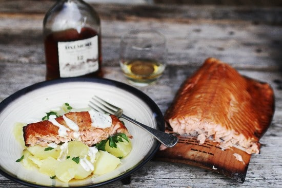 Guest Post – Maple Plank Wood Fired Salmon