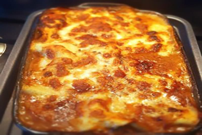 Andy Mogg's Pulled Beef Lasagne