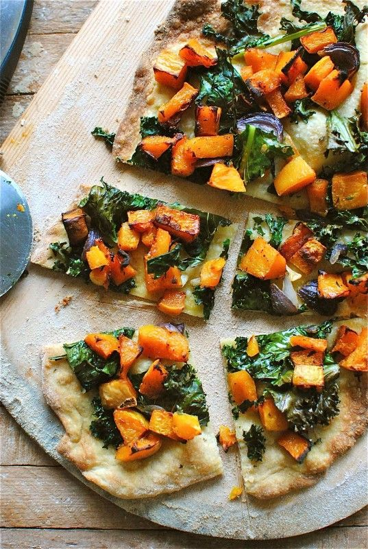 Stone Baked Butternut Squash Pizza