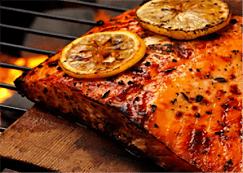 Maple Syrup Salmon