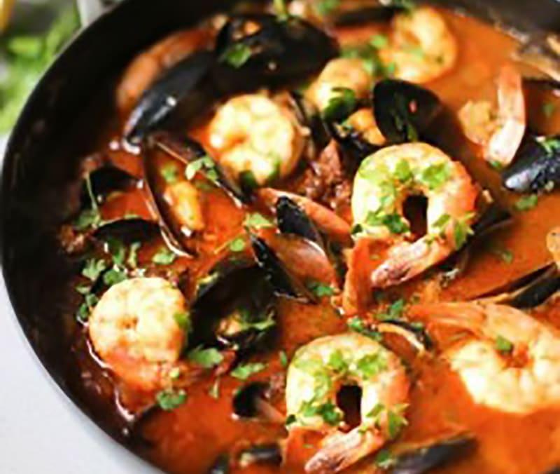 Wood Fired Seafood Stew