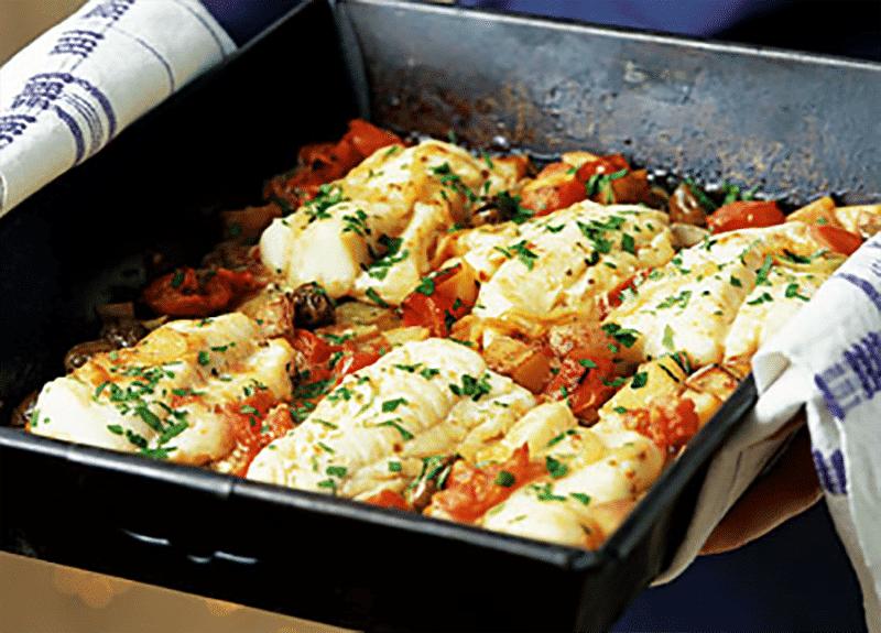 Wood Fired Italian Fish