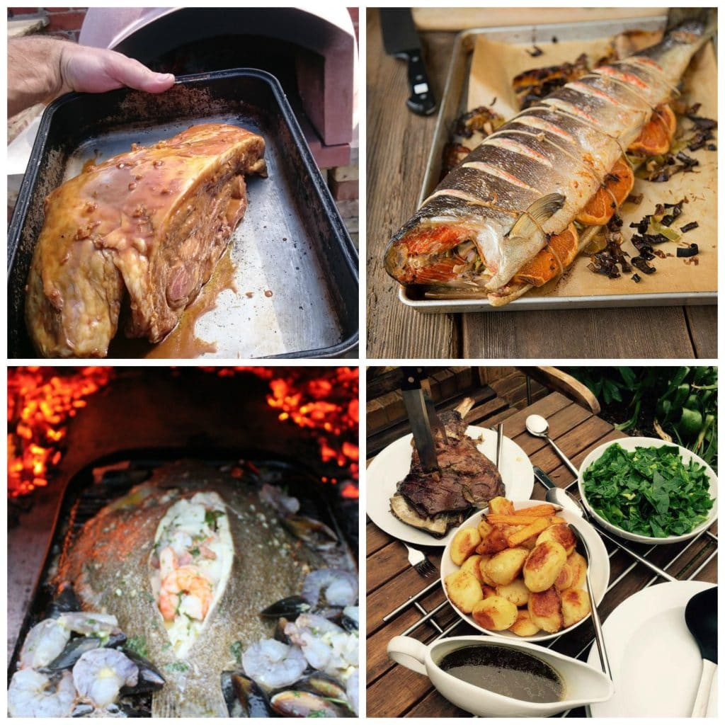 Hot smoking in your wood fired oven