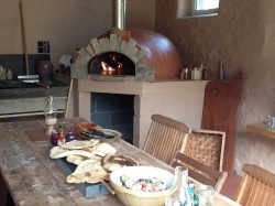 How to build your wood fired oven indoors