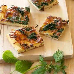 Stone Bake's Nettle Pizza