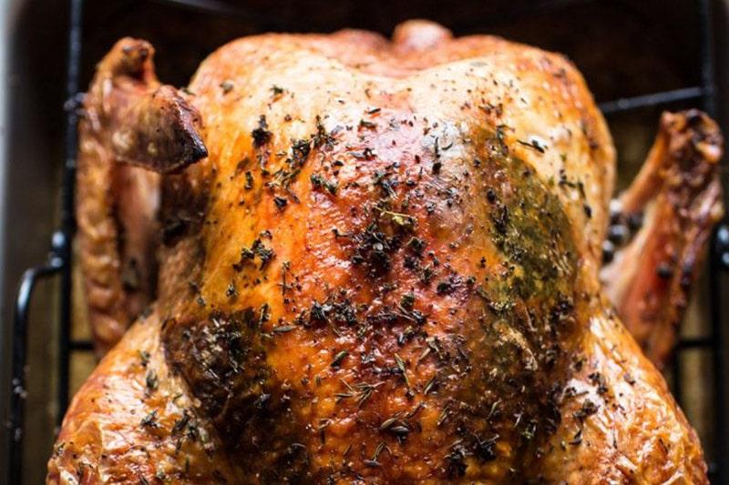 Wood Fired Christmas Turkey