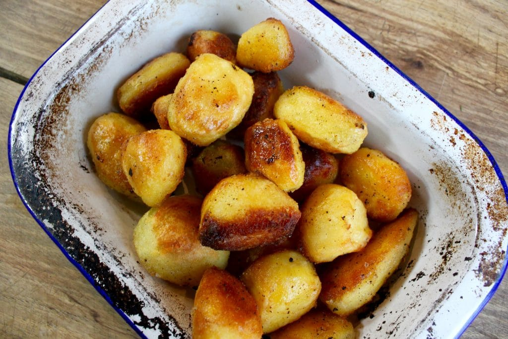 The Ultimate Wood Fired Roast Potatoes