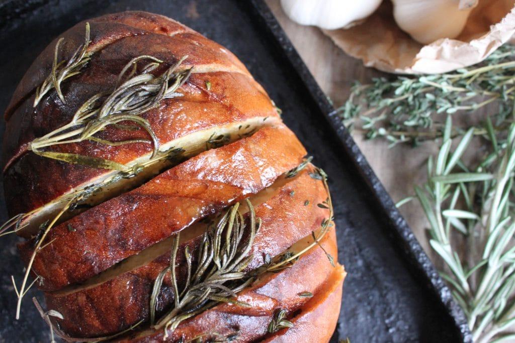 Wood Fired Garlic Bread