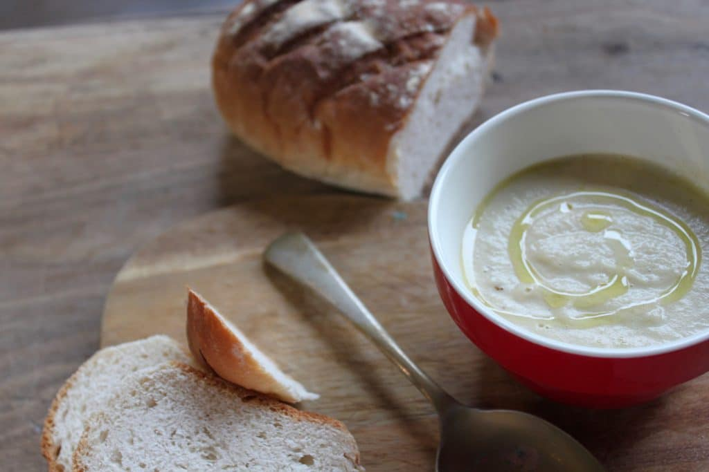Wood Fired Jerusalem Artichoke Soup