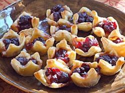 Christmas Cranberry & Brie Parcels