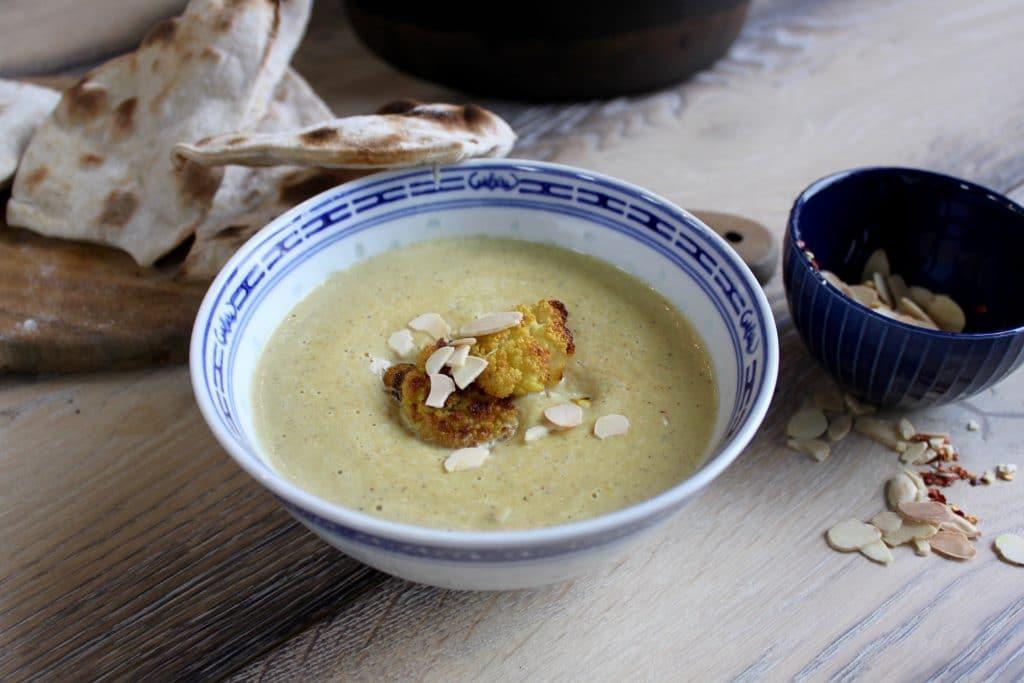 Roasted Cauliflower & Turmeric Soup