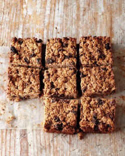 Stone Bake's Cherry Oat and Seed Squares