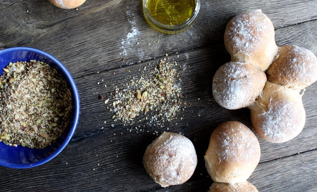Tear & Share Bread with Dukkha