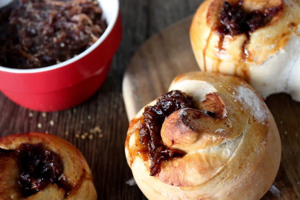 Wood Fired Onion Marmalade Bread
