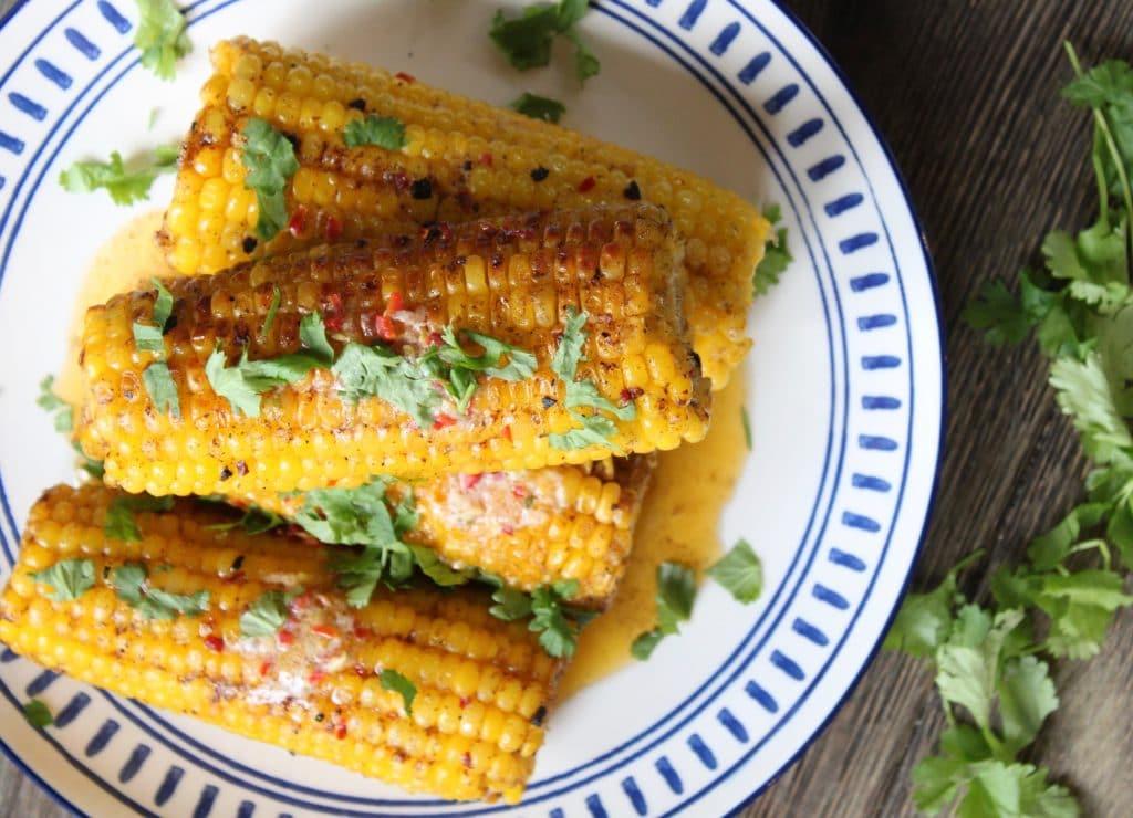 Chilli, Lime & Coriander Corn On The Cob