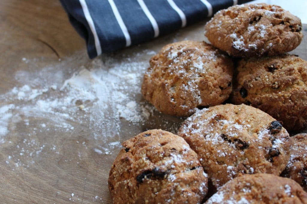 Wood Fired Rock Cakes