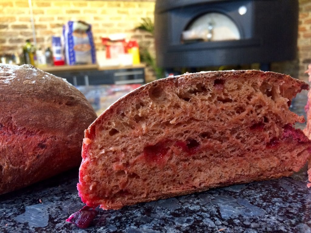 Wood Fired Beetroot Bread
