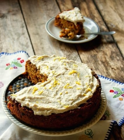 Wood Fired Classic Carrot Cake