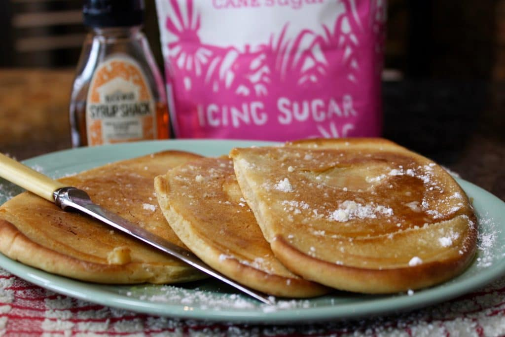 Wood Fired American Style Pancakes